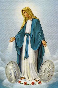 Mother Mary and Miraculous Medal