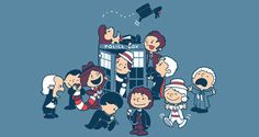 Doctor Who Peanuts - Whonuts here's another for @Deb Sidelinger