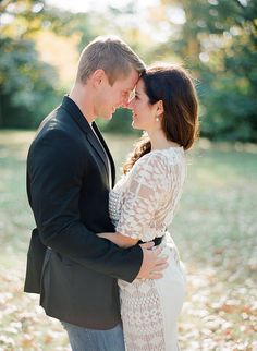 Classic done well. Love her Anthropologie dress. Engagement photos. Contax 645. Anna Page Photography