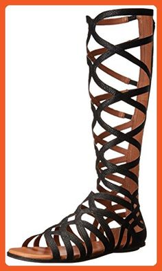 Gentle Souls Women's Make OR Break 3 Gladiator Sandal, Black, 7 M US - Sandals for women (*Amazon Partner-Link)