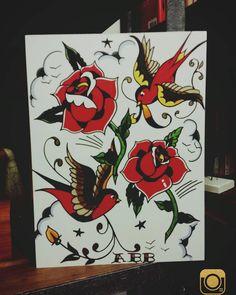 Sailor Jerry inspired #art #artist #artwork #artistmafia #artofdrawingg #drawing #sketchpad #asketchaday #sketch #tattoo #tattoodesign #tattooart #nyctattoos #inkmaster #inked #inkedup #nyc #nycart #artlife #instaart #artistmafia #artist_4_shoutout #neworleans #frenchquarter #neworleansart #neworleanstattoos by art_by_bolo