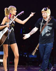 Ed sheeran everybody - I was at this concert - The Red Tour 2013 - Nashville