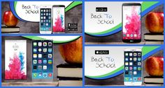 Sharpen your pencils and start the school year with this comprehensive 'Back to school' app MARCOM graphics templates pack: Google Play screenshots, social covers, Twitter and Facebook install ads. #MobileAppMarketing #MobileAppDevelopers