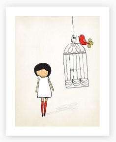 little ones birdcage by my printspace, via Flickr