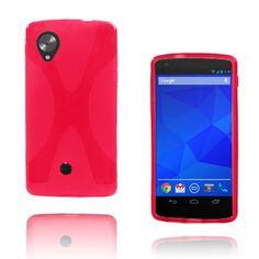 X-Line (Rosa) Google Nexus 5 Skal - http://lux-case.se/x-line-rosa-google-nexus-5-skal.html