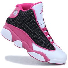 promo code d86ec 8142f If you wear male Womens Air Jordan 13 (XIII) Retro Pink Black White , it  could possibly offer you with good luck.The Womens Air Jordan 13 seems more  ...