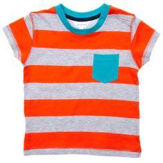 Camiseta a rayas con bolsillo en el pecho Infantil niño - Kiabi - 4,99€