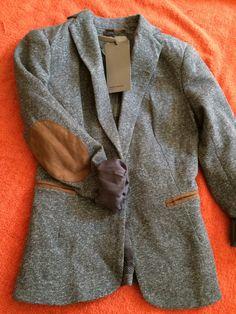 Vero moda Blazer gris con coderas