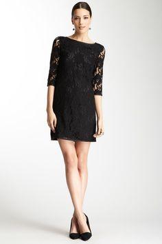 Anna Catherine Lace Overlay Dress, LOVE