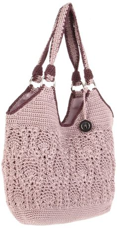 The Sak Crochet Purple Stellaris Tote: http://cdnd.lystit.com/photos/2012/03/22/the-sak-orchid-the-sak-stellaris-tote-product-2-3102623-841305426.jpeg   Base:  http://cdnb.lystit.com/photos/2012/03/22/the-sak-orchid-the-sak-stellaris-tote-product-3-3102623-274804591.jpeg