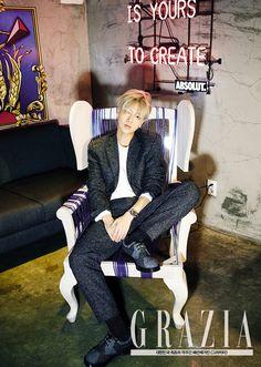 Ye Sung - Grazia Magazine
