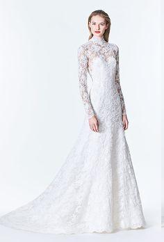 Brides: Carolina Herrera Wedding Dresses - Fall 2017 - Bridal Fashion Week