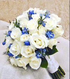 34 Best Blue Flower Arrangements Images Engagement Floral
