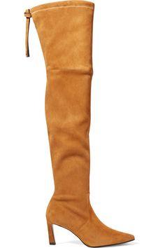 e5c416760c22 Stuart Weitzman - Natalia suede over-the-knee boots