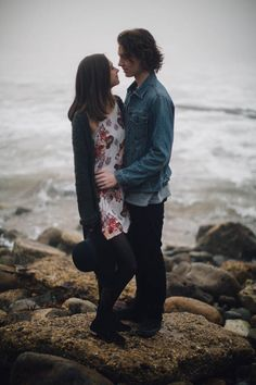 A Gray Day at Royal Palms Beach Park Was No Match For This Sweet Engagement Session