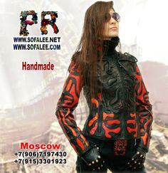 """№167 Exclusive women's genuine leather jacket """"Z-US-7"""" - Exclusive leather jackets&blazers. Women's clothes leather jackets from real python skin,genuine crocodile (alligator) hide skin, suit, coat, vest, dress of leather. Luxury Sheepakin. Mittens&Earmuffs fur red/silver fox, mink. Shop for jackets. Costumes for movie stars, concert, dance, show. Make to order luxury leather clothing."""