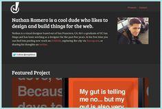 26 Dark Minimalist Website Design