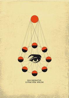 Illuminatio Lunae per Solem. magictransistor.tumblr.com Tumblr