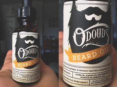 Some finalized packaging work for O'Douds | Beard Oil