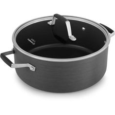 Select by Calphalon Hard-Anodized Nonstick 5-Quart Dutch Oven with Cover