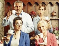 PBS picks up 'The Great British Baking Show' : Entertainment - Airs before Downton Abbey on Sunday nights. My new favorite show on PBS. Mary Berry, Downton Abbey, Matthew Crawley, Paul Hollywood, Great British Bake Off, Best Scone Recipe, Doug Mcclure, James Drury, The Virginian