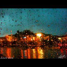 #alabang も #土砂降り super heavy #rain #rainy #season #philippines #フィリピン #雨季