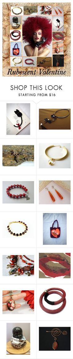 """""""Rubescent Valentine: Handmade Gift Ideas"""" by paulinemcewen ❤ liked on Polyvore"""