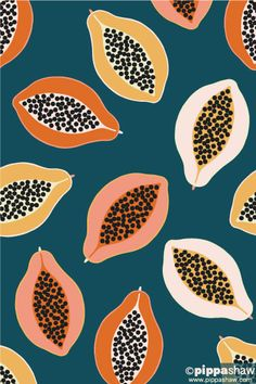 A sophisticated fruit pattern in a contemporary colour palette designed by Pippa Shaw and available for licensing. A sophisticated fruit pattern in a contemporary colour palette designed by Pippa Shaw and available for licensing. Motifs Textiles, Textile Patterns, Textile Design, Prints And Patterns, Modern Patterns, Design Patterns, Surface Pattern Design, Pattern Art, Colour Pattern