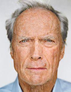 Clint Eastwood - close up