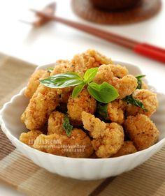 Taiwanese Popcorn Chicken 鹹酥雞   小小米桶