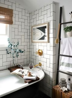 This Macy's Sale Will Help You Get the Spa-Like Bathroom of Your Dreams (Apartment Therapy Main) Bathroom Trends, Modern Bathroom, Bathroom Vinyl, Cozy Bathroom, Concrete Bathroom, Minimalist Bathroom, Bathroom Ideas, Bathroom Faucets, Bathroom Inspiration
