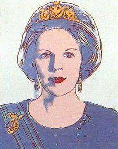 Beatrix, queen off the Netherlands  Andy Warhol