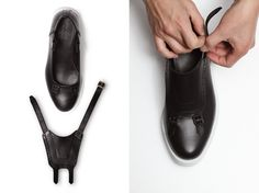 The Modular Shoes System Designed by COATPLUS