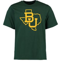 Baylor Bears College Tradition State Short Sleeve T-Shirt - Green