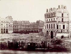 Charles Marville - Le Palais-Royal  vers 1850  © Bibliothèque nationale de France, Estampes