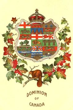 Shop Online For Greeting Cards, Retro Canadiana - Canadian Culture Thing Postcard - Dominion of Canada