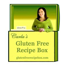 Gluten Free Recipe Box Logo  ... Linked to article about connection between gluten intolerance fudging and pregnancy