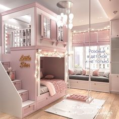 made to order stunning cottage bunk bed with drawer stairs and shutters Cute Bedroom Decor, Bedroom Decor For Teen Girls, Cute Bedroom Ideas, Stylish Bedroom, Room Ideas Bedroom, Cool Kids Bedrooms, Awesome Bedrooms, Beds For Girls, Kids Rooms