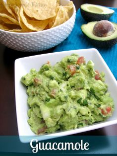 Saucy Jocey's Kitchen: Guacamole Tasty, Yummy Food, Guacamole, A Food, Mexican, Ethnic Recipes, Kitchen, Cinco De Mayo, Baking Center