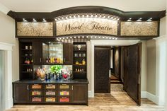 15 Interesting Media Rooms and Theaters With Bars   Pinterest ...