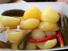 Anyukámtól tanult recept alapján teszem el a savanyúságot ;) – Recept Velem Minion, Fruit, Food, Drinks, Meal, The Fruit, Eten, Drink, Meals