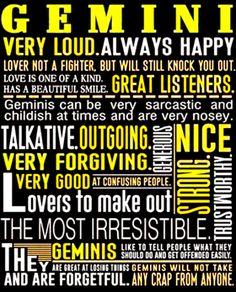Gemini Zodiac t shirt May June born t-shirt women men t-shirt h Gemini Quotes, Zodiac Signs Gemini, Zodiac Facts, Gemini Horoscope, Capricorn, Aquarius, Gemini Compatibility, Gemini Traits, Gemini Girl