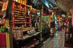 Siem Reap's Night Market, Cambodia. I'd totally love to go back here