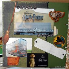 Almost there ! [Harry Potter Mini Album] - Scrapbook.com