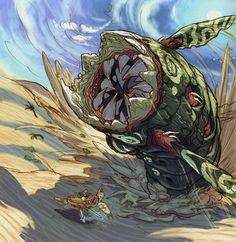 Breath of Fire IV Sand Worm