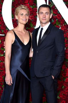 Claire Danes and Hugh Dancy at the 2016 Tony Awards.