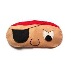 Pirate eye mask, Pirate sleep mask, Boy's sleep mask, Felt eye mask, Sleeping aid, Men's sleep mask, Patch sleep mask