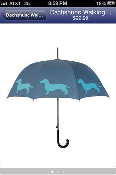 Wennie dog umbrella