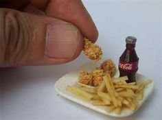 chicken nuggets/fries and a coke to wash it down with...