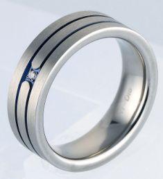 14K 12ct Diamond and Black Diamond Bands Engagement rings Gay